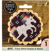 Scalloped Display Easel Cross Stitch Kit